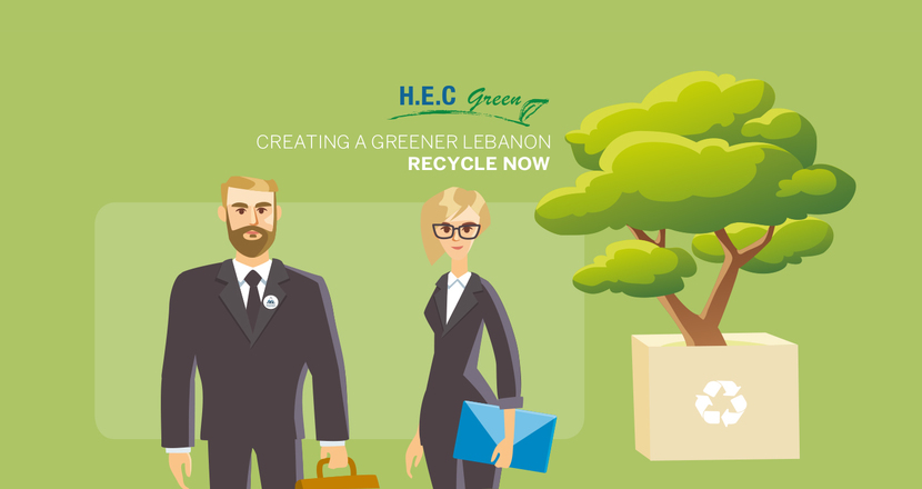 H.E.C green is now recycling